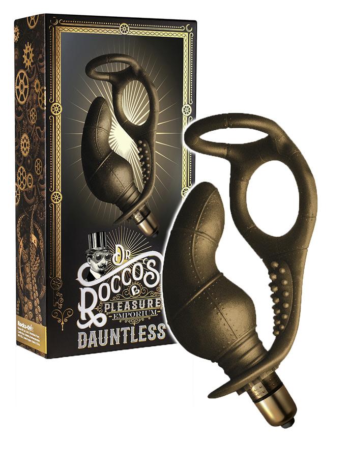 Masażer prostaty Steampunk Dr. Roccos - Dauntless