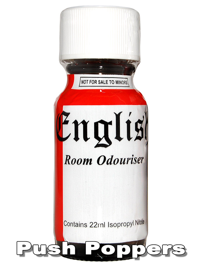 Poppers ENGLISH 22 ml