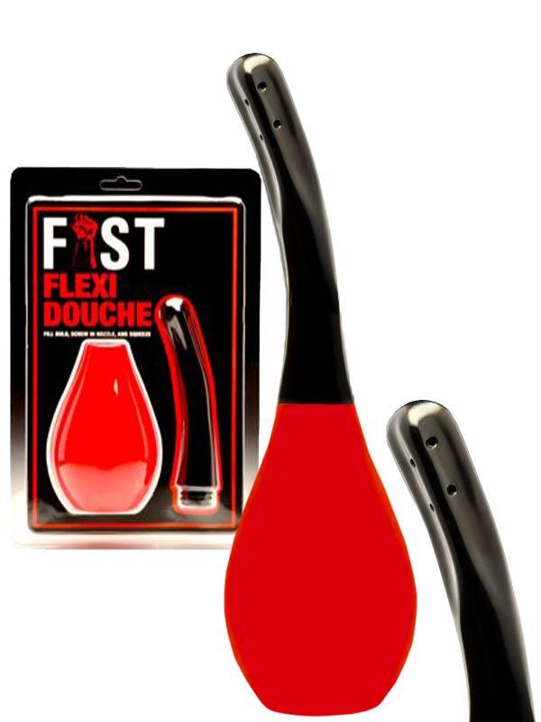 Gruszka analna FIST Flexi - czerwona