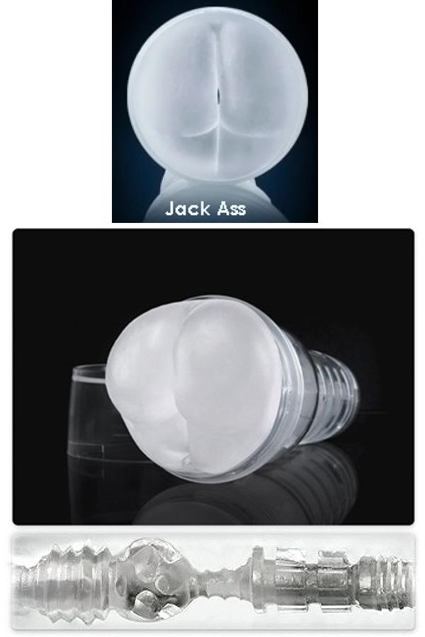 Masturbator: próżniowy odbyt Ice Jack Ass