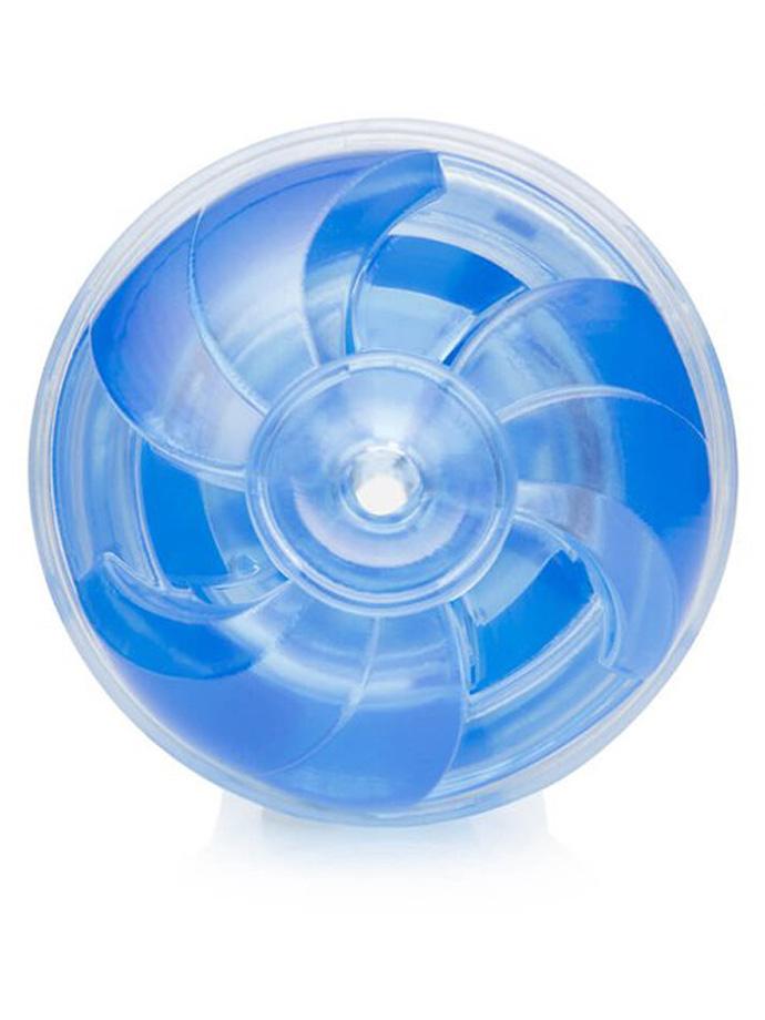 Masturbator ssący Fleshlight Turbo Thrust - Blue Ice
