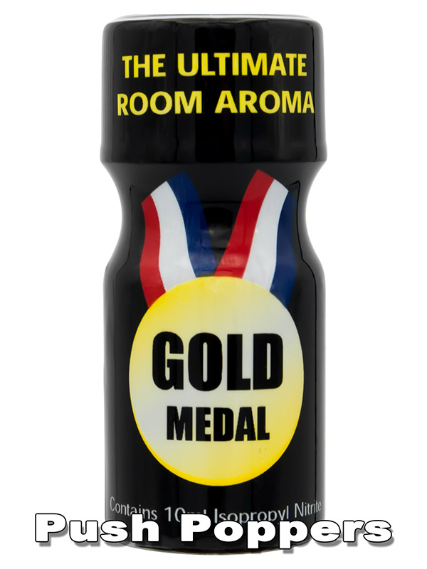 Poppers GOLD MEDAL - mały