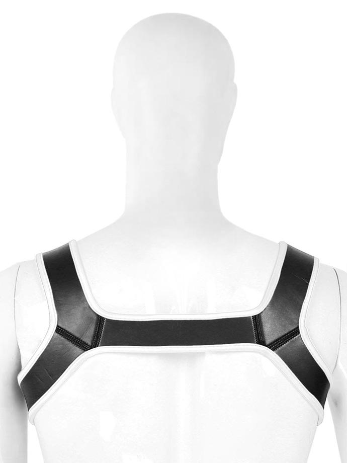 Pupplay Neoprene Harness - White/Black