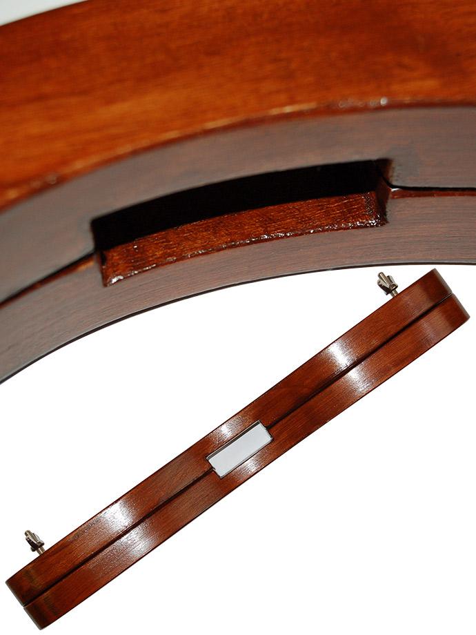 Drewniany pręgierz - Humbler - brązowy