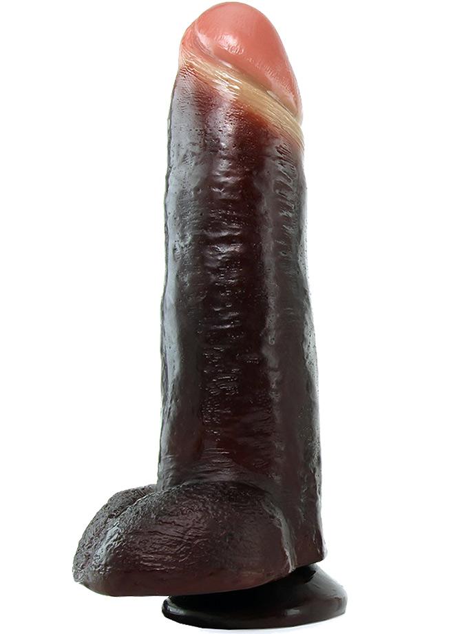 Dildo analne Blackout! - 33 cm - mega realistyczne