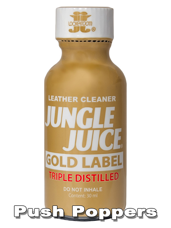 Poppers JUNGLE JUICE GOLD LABEL 30 ml 3x delstylowany