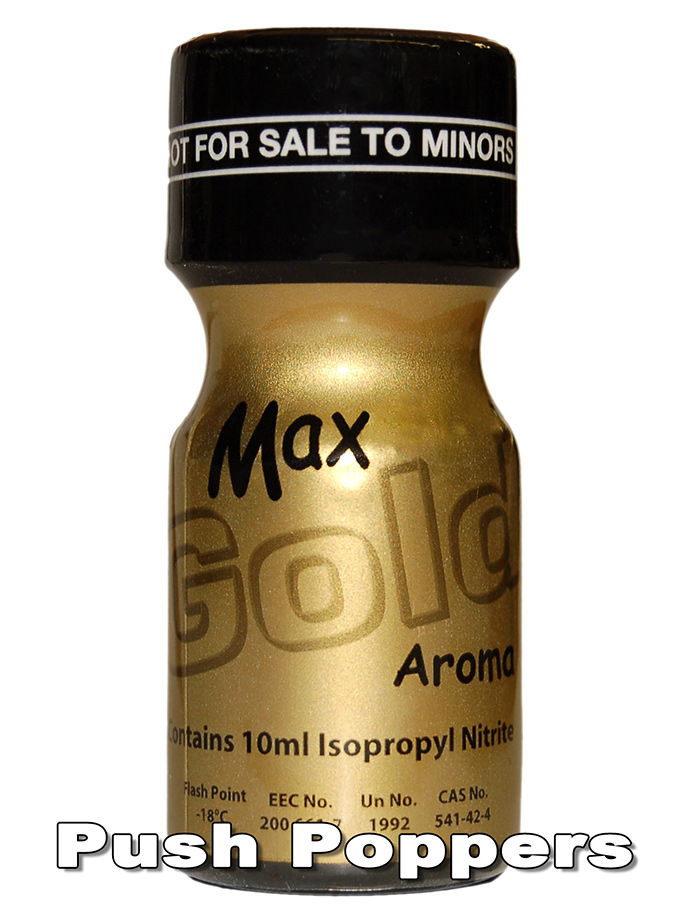Poppers MAX GOLD - poppers
