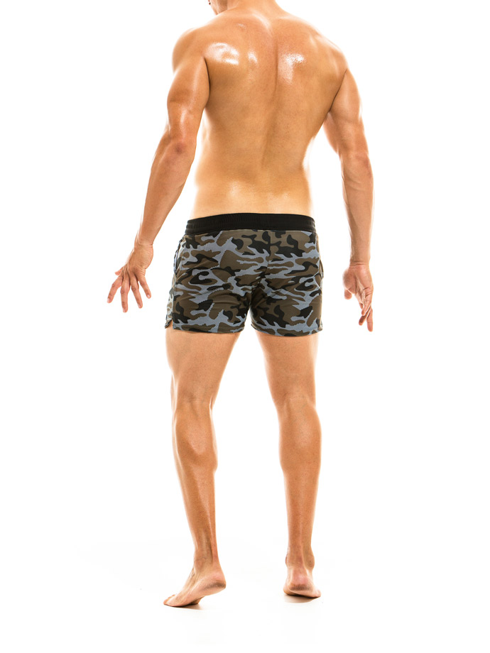 Modus Vivendi - Camo Swim Short - Khaki