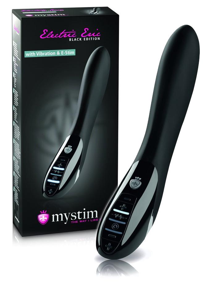 Elektryczny wibrator Mystim Electric Eric - Black Edition