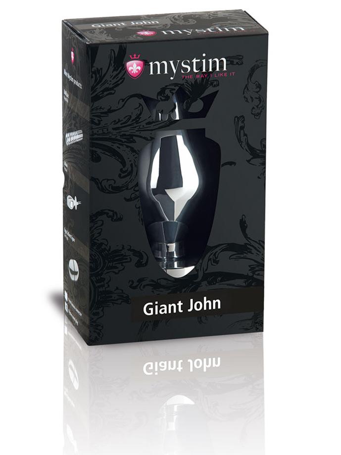 Elektryczny korek analny - Mystim Giant John XXL