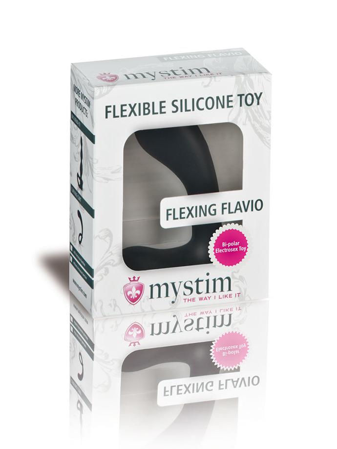 Stymulator prostaty Mystim Flexing Flavio - E-Stim