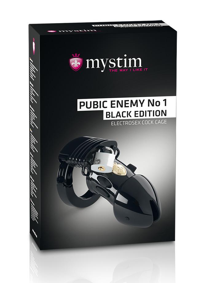 Klatka na penisa Mystim Pubic Enemy No 1 - B. Edition