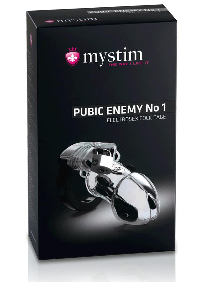 Pas cnoty Mystim Pubic Enemy No 1 - Penis Cage