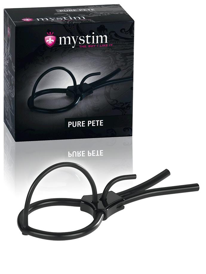 pierścień erekcyjny Mystim Pure Pete elektrosex
