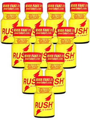 10 x RUSH - PACK