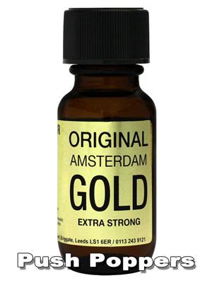 Poppers ORIGINAL AMSTERDAM GOLD 25 ml
