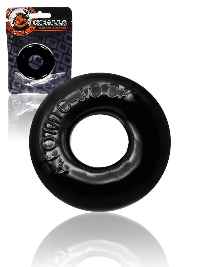 Pierścień erekcyjny Do-Nut 2 Fatty - czarny