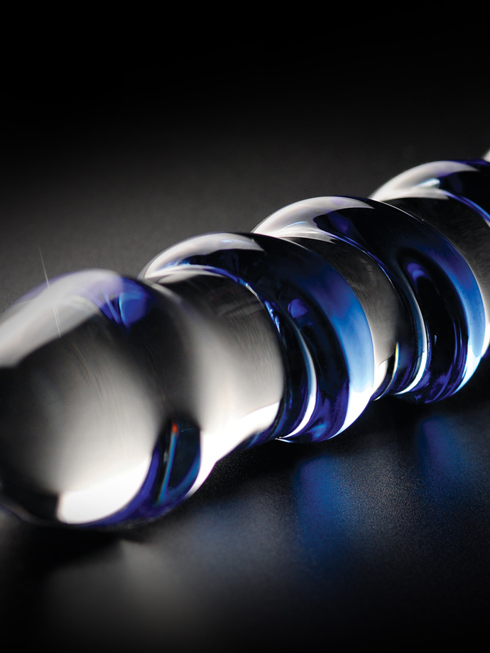 Dildo szklane Icicles No. 05 - ręcznie dmuchane