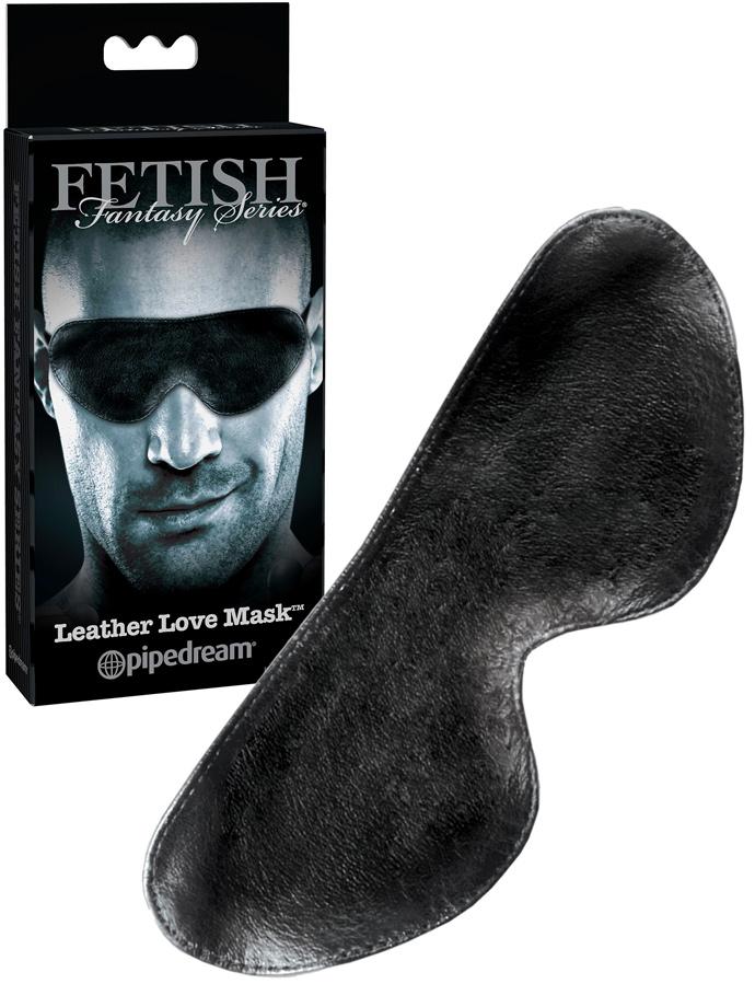 Skórzana maska na oczy Fetish Fantasy Special Edition
