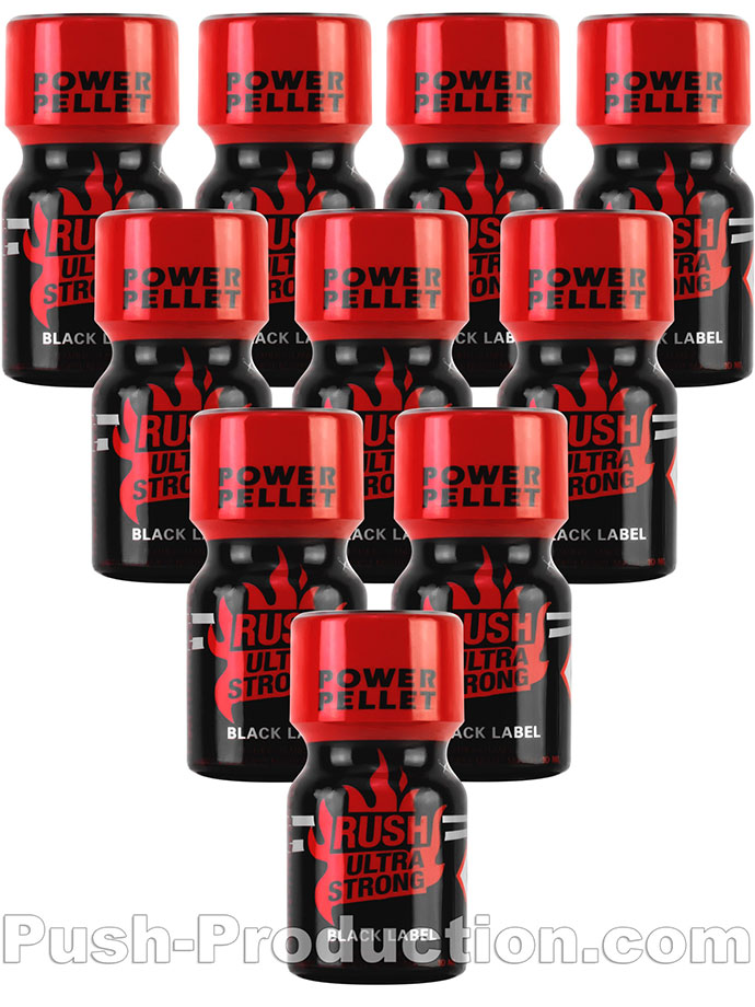 RUSH ULTRA STRONG BLACK LABEL x 10