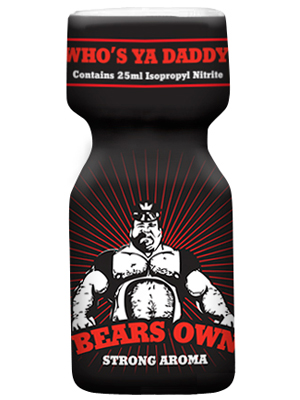 Poppers BEARS OWN STRONG 25 ml