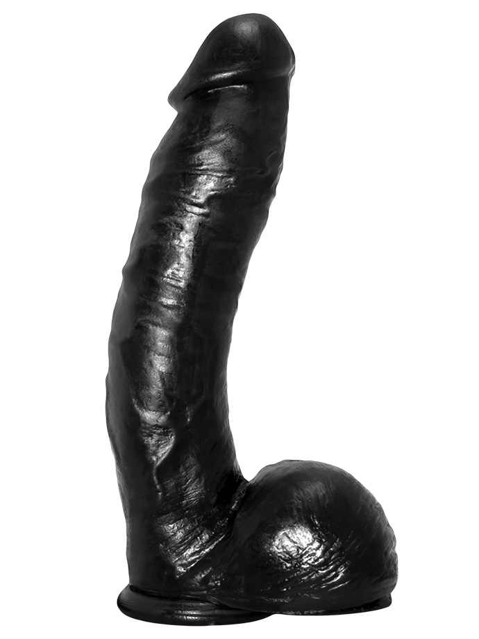 Odlew penisa aktora porno - dildo Buck - czarne
