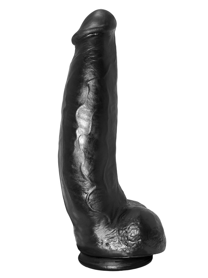 Odlew penisa aktora porno - dildo Matthew - czarne