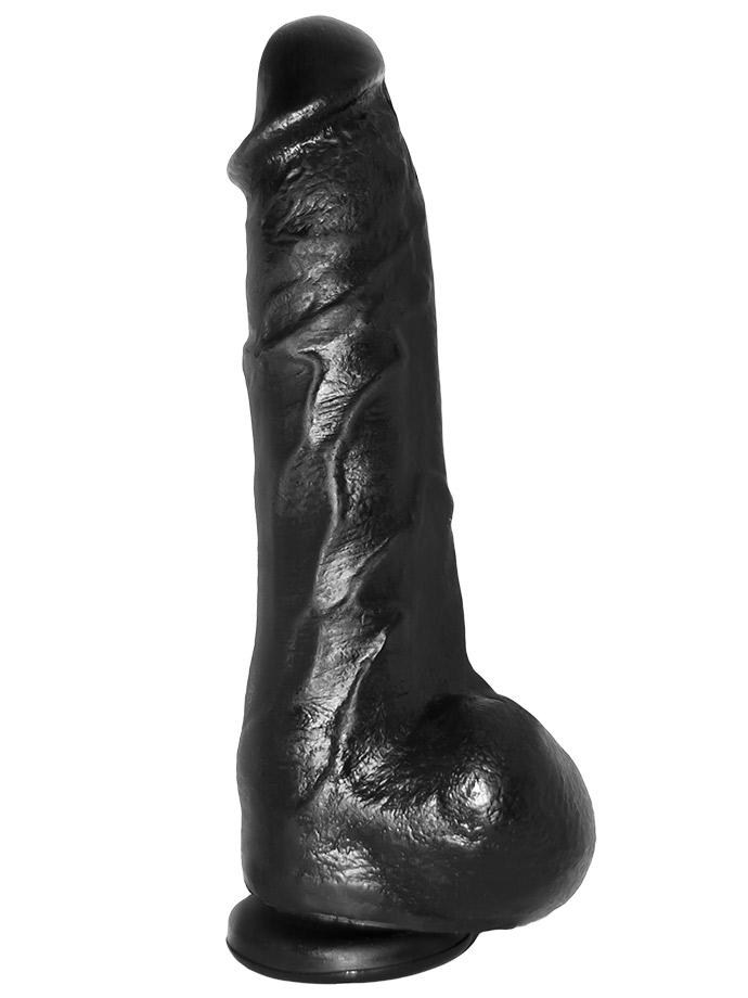 Odlew penisa aktora porno - dildo Mike - czarne