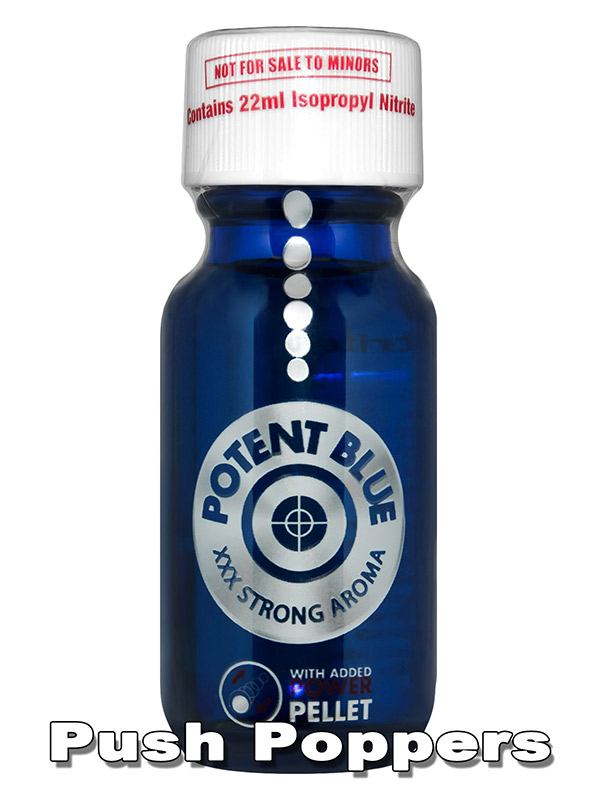Poppers POTENT BLUE 22 ml