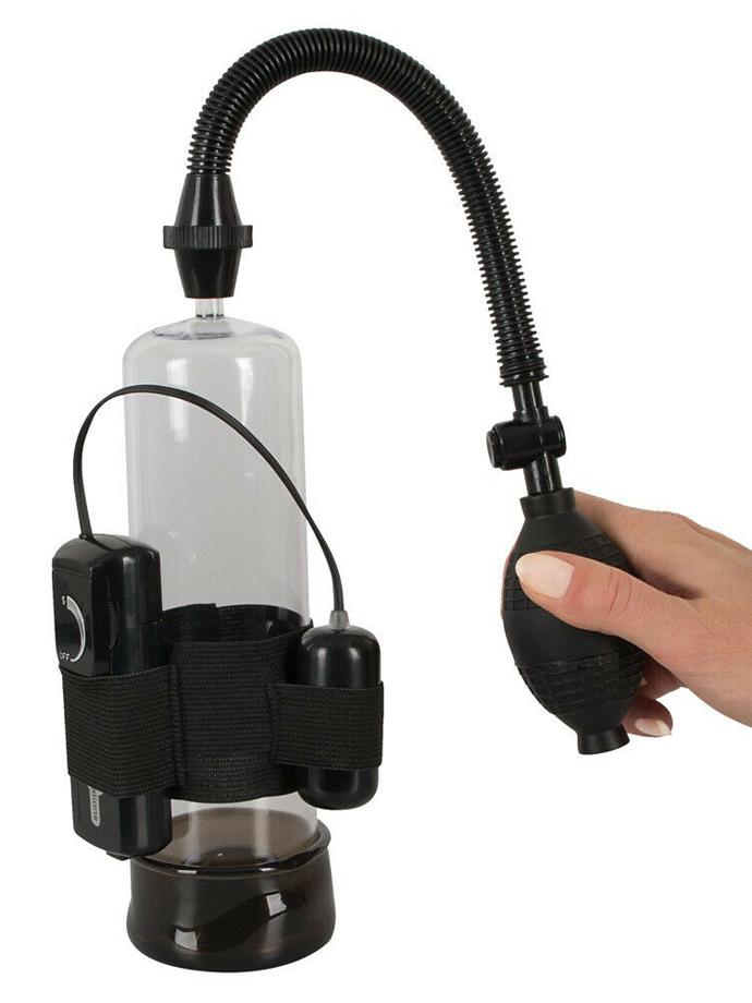 Pompka wibrująca Power Pump with Bullet Vibe