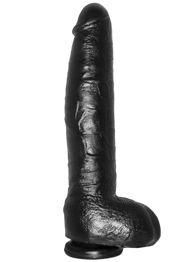 Odlew penisa aktora porno - dildo Brad - czarne