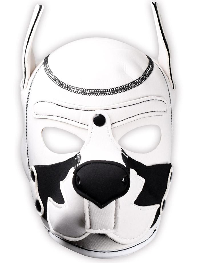 Pupplay Dog Mask - Fox Terrier White