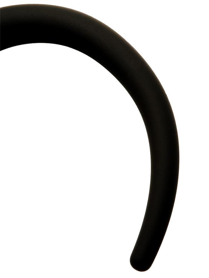 Wtyczka analna w kształcie ogona No 3 - czarna