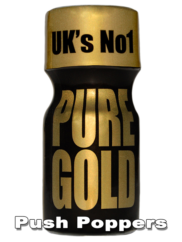 Poppers PURE GOLD - mały
