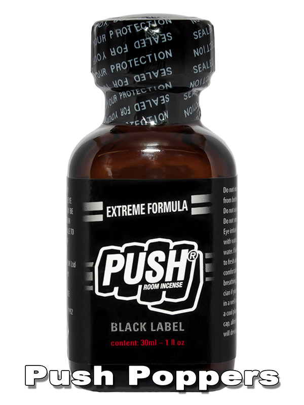 PUSH BLACK LABEL - duży