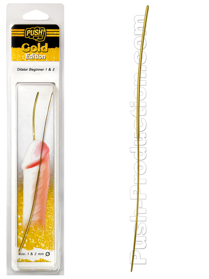 Dilator do cewki Push Gold Edition - 1 & 2