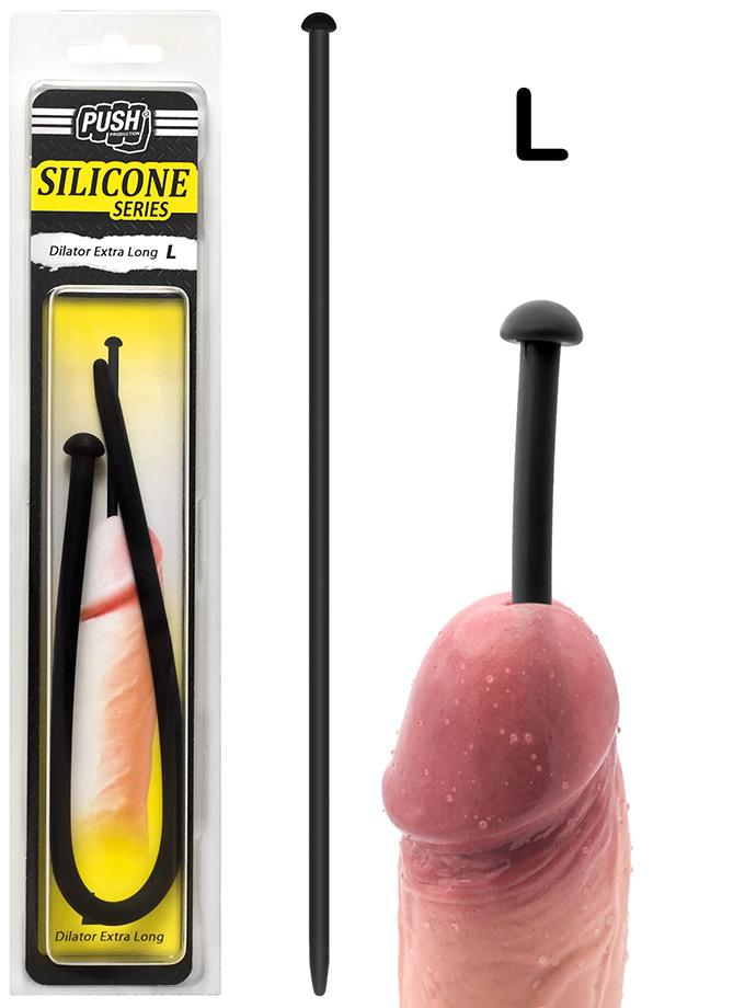 Push Silicone - Dilator Extra Long L