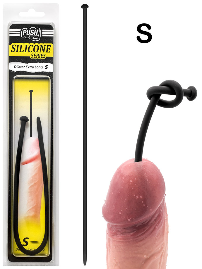 Push Silicone - Dilator Extra Long S
