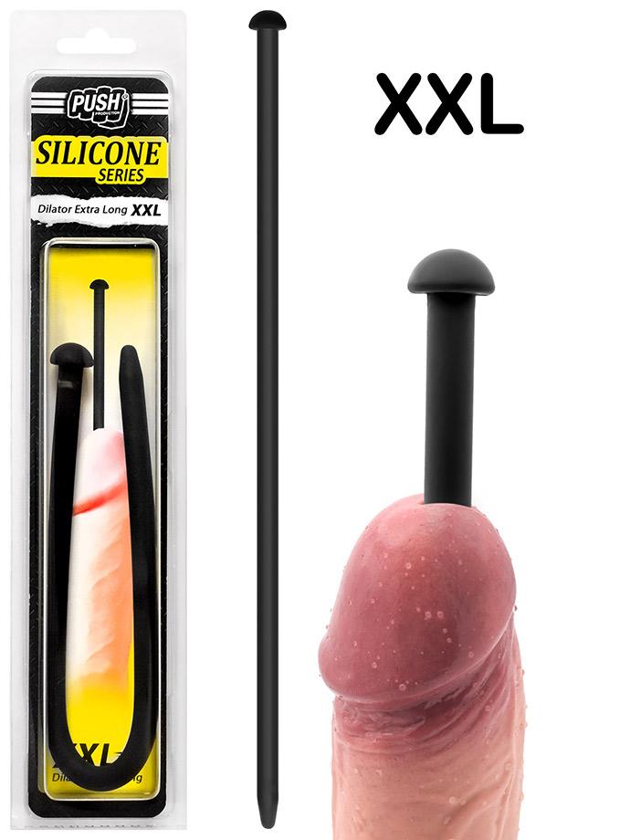 Push Silicone - Dilator Extra Long XXL