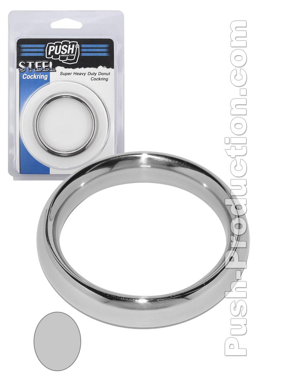 Pierścień erekcyjny Push Steel - Super Heavy Duty