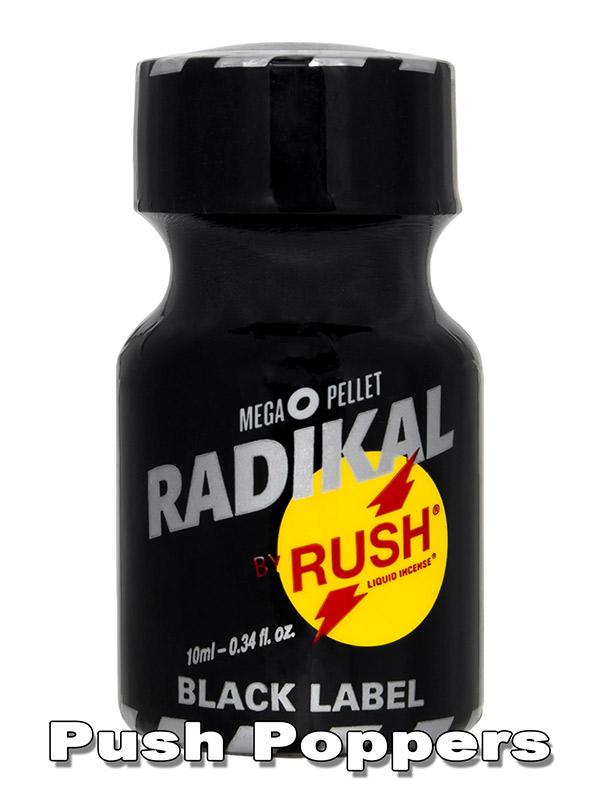 Poppers RADIKAL RUSH BLACK 10 ml