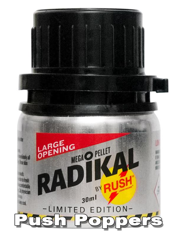 Poppers RADIKAL RUSH 30 ml aluminiowa butelka