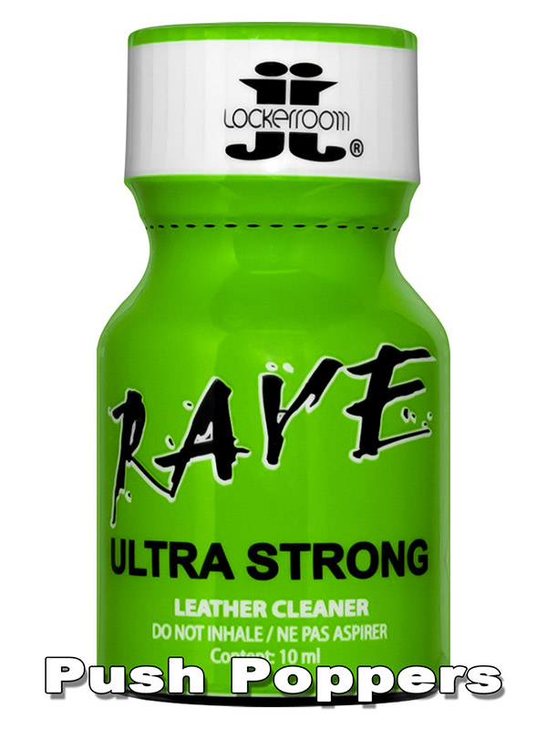 Poppers RAVE ULTRA STRONG - mały
