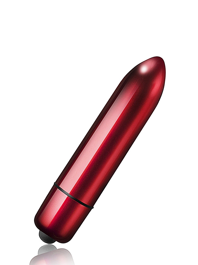 10 Speed RO-120mm Bullet Vibrator - Red Alert