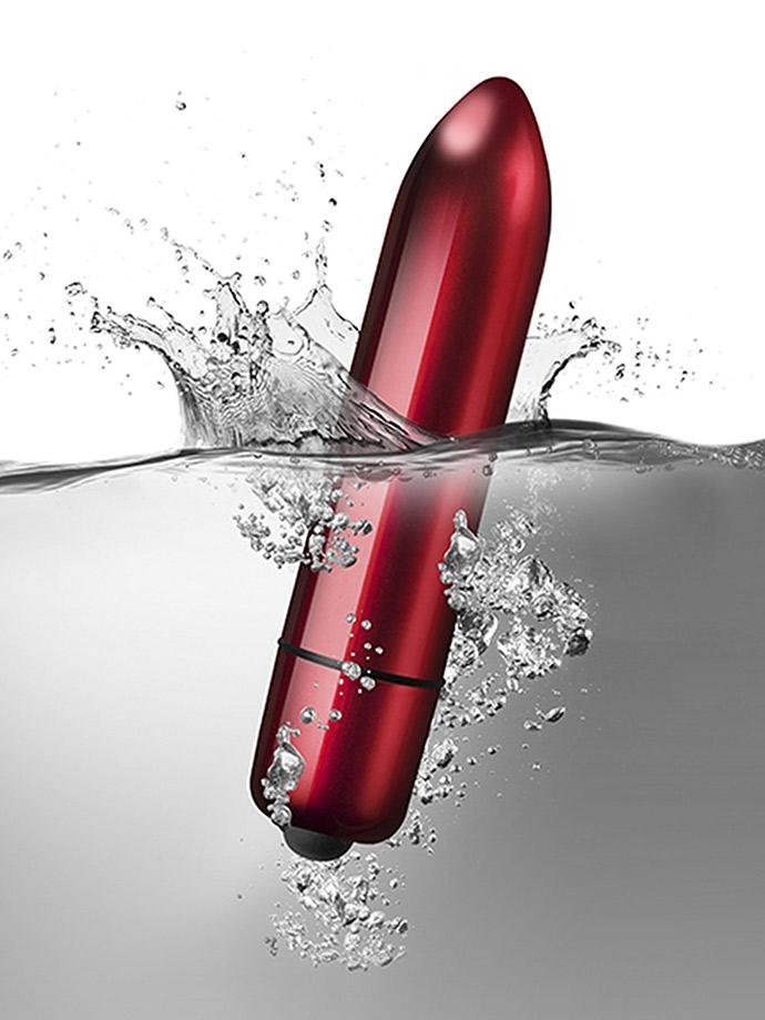 10 Speed RO-120mm Bullet Vibrator - Red Alert