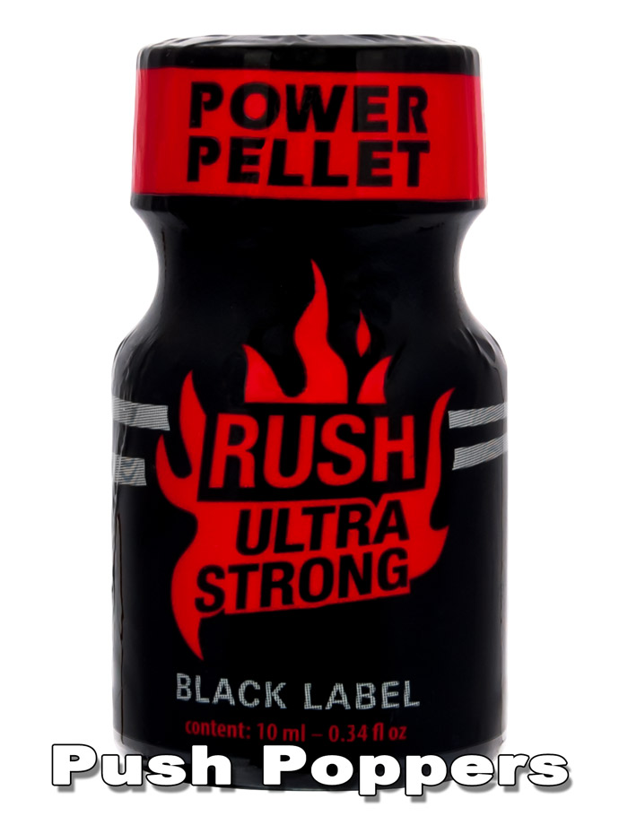 Poppers RUSH ULTRA STRONG - BLACK LABEL - mały