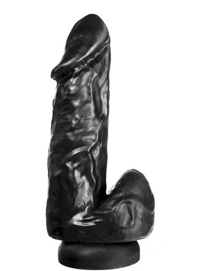 Dildorama 515 line 19 cm z przyssawka - czarny