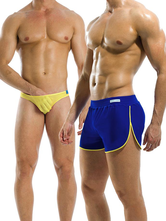 Modus Vivendi - Double - niebiesko-żółte