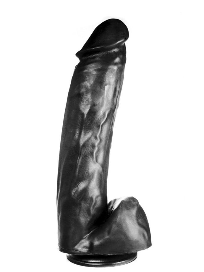 Dildorama 515 line XXL Dildo 36 cm z przyssawką - czarny