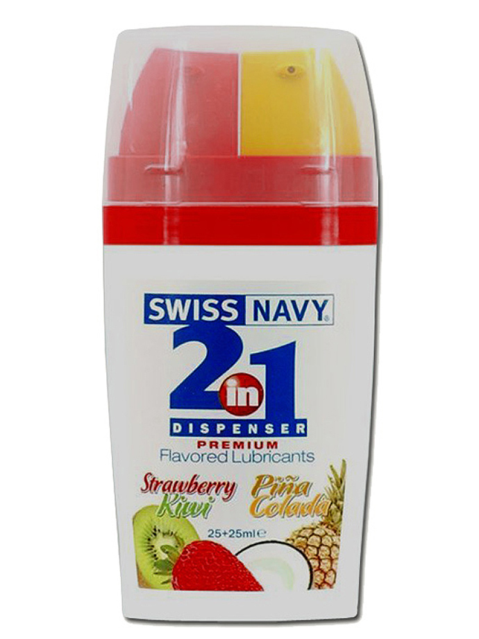 Lubrykant - Swiss Navy 2 in 1 - truskawka,kiwi /Pina Colada